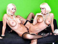 Jessica Jaymes and Puma Swede lesbian fuck fest, big booty