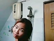 Thai Girl Shower on Webcam
