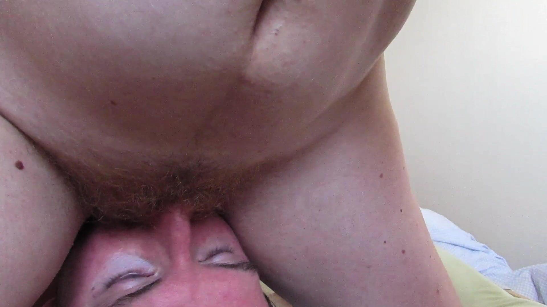 Wet Hairy Pussy Masturbation