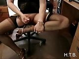 cum on high heels.   H.T.B.