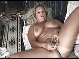Chubby Mature Masturbates to a Quiet Orgasm