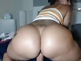 Big booty on webcam