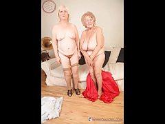 OmaGeiL Amateur Granny Fotos Compilación