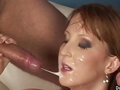 Young Skinny Redhead Double Banged