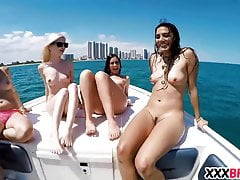 Boote und sexy Teen Hoes