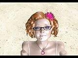 3D classic chubby facial tights beach nerd BBW MGTOW