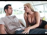Blonde Cougar goes for Young Dick