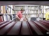 College Freshmen Fuck In The Library