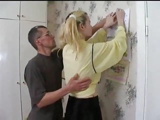 Russian Teen Small Tits video: NMLN Daughter Does What Daddy Wants With His Mates !