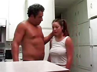 Pigtailed Teen Gets Seduced and Fucked By Awesome DILF