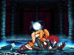 Bao VS Isabeau XIII. Hentai-Kampf