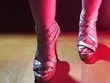 Sparkle shoes, sparkle polish.