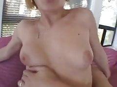 Cute MILF anal orgasm