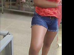 #rabuda de short jeans #big ass in jeans 023