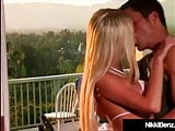 Penthouse Pet Nikki Benz Wraps Her Lovely Lips On A Cock!