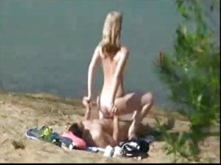 Jag knullar henne vid sjön