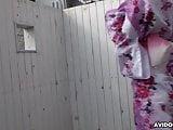 Japanese lady in a kimono, Miharu Kai sucks dick, uncensored