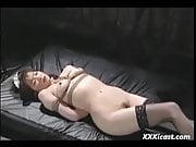 Asian Teen Tied In Stockings Whipped And Hot Waxed