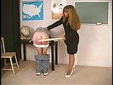 Teacher Spanks Hard But Mom Spanks Harder Part 1