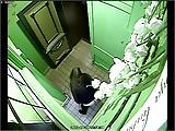 Security camera - girls pissing