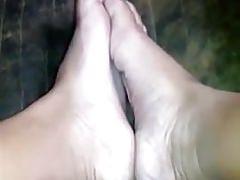 kremowe filipińskie stopy