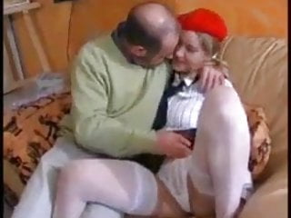 French Stockings Double Penetration video: WALL She Loves Her Dad And Her Brother !