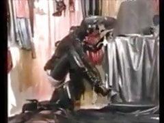 Vintage l'esclave en caoutchouc