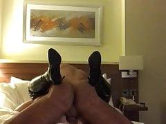 Fick den Ex in schenkelhohen Stiefeln