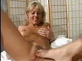 Big labia blonde milf licked by younger lesbian pt3