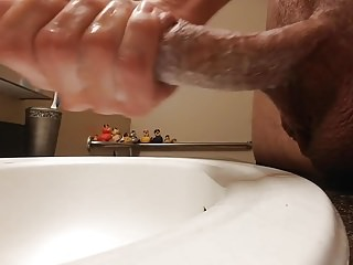 Jay Riggs - wanking with rubber duckies