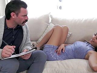 TOUGHLOVEX Sex addicted beauty Maya Bijou meets Dr Karl