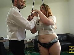 PASCALSSUBSLUTS - English BBW Estella Bathory fütterte dom cum