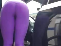 Ass So Hot in tight Leggings