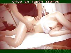 Orgasmo nella sala dei massaggi falsi