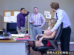 Brazzers - Big Tits at Work - Kagney Linn Karter i Michael