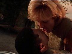 Beroemdheden Ellen Barkin & Laurence Fishburne Sex Scene