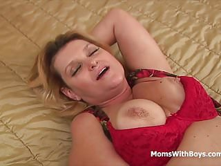 .Busty Mom Wanting More Anal Excitement.