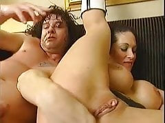 Prolapse after hand d' cock in asshole