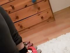 piedi scarpe test arab