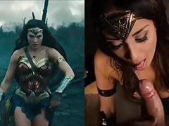 SekushiLover - Les compétences de Blowjob de Wonder Woman