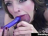 Horny Housewife Shanda Fay Fucks A Hard Rod On Hot Rod!