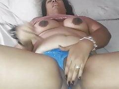 Amateur Latina Wife Masturbating