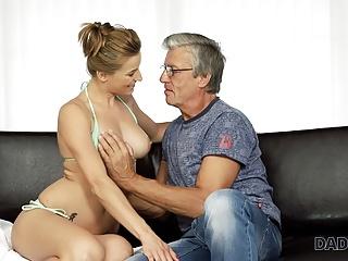Redhead Mature European video: DADDY4K. Nice girl Victoria has a crush on her boyfriend
