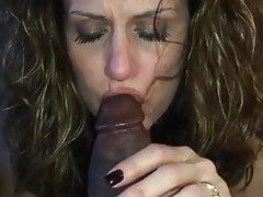 Żona czeka na męża z BBC w ustach