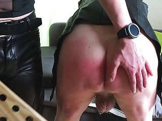 Amateur Bdsm Spanking video: Clip 69O - Medical Examination And Paddling For Olav