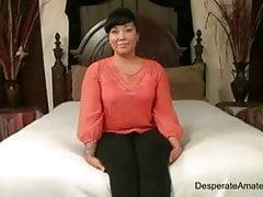 Desperate Amateurs mamuśka blondynka Sabrina duża seksowna booty orgia M