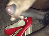 Bbc jerking over red heels