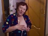 Russian grandma wants some banana