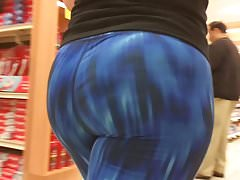 PAWG Hot Jiggling Booty w Spandex