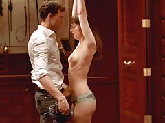Dakota Johnson Tied and Nude Sex Scene On ScandalPlanetCom